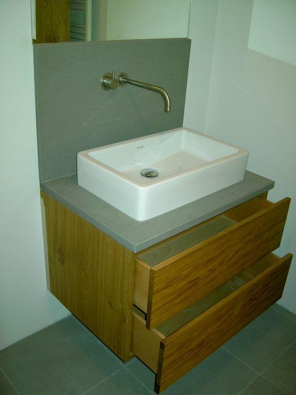 Waschtisch Mit Steinplatte badezimmermöbel schreinerei klemm simmern hunsrück